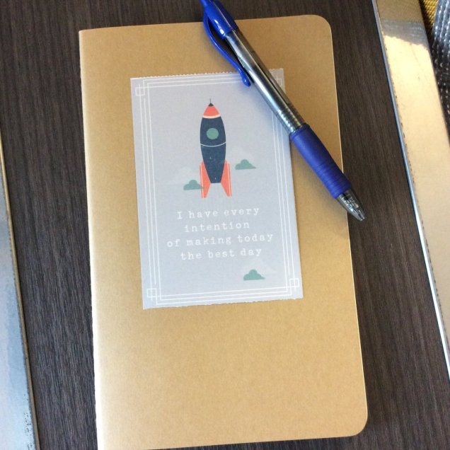 Bullet Journal in Moleskine Cahier