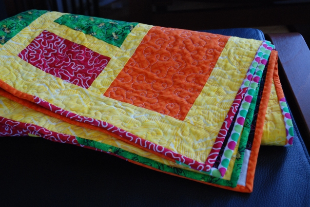 Edges of the coin quilt